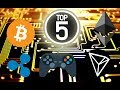 TOP 5 CRYPTOCURRENCY GAMES