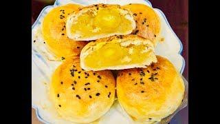Làm bánh pía nhân sầu riêng đậu xanh khoai môn (Pia Mooncake) - - Bếp Nhà Nội