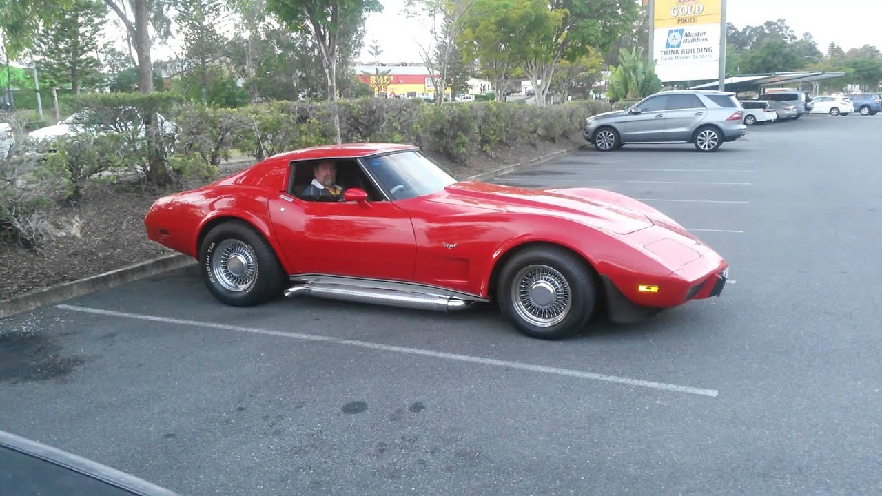 1977 Corvette Stingray With Sidepipes Youtube