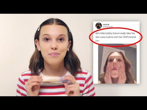 millie bobby brown gets dragged for her beauty brand..