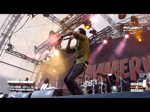 Romain Virgo live @ Summerjam Festival 2013, Cologne Germany (7/5/2013)
