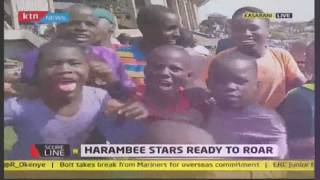 Fans sent into frenzy as Raila arrives at Kasarani | #KTNScoreline