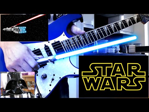 Star Guitar Wars🎸Main Theme - Entirely on Guitar Mark Roskilly🎥