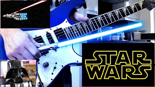 Star Guitar Wars - Main Theme - Entirely on Guitar