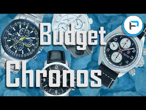 Top Budget Chronograph Watches Under $1000