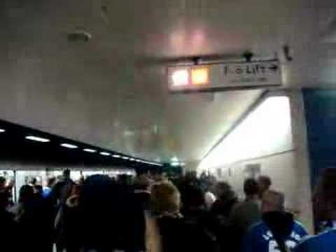 Chelsea Schalke U-Bahn Unser Club S04
