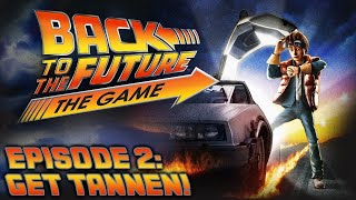 Смысл моих каналов. Back to the Future: The Game. Episode 2: Get Tannen!/ Anyuta Yar