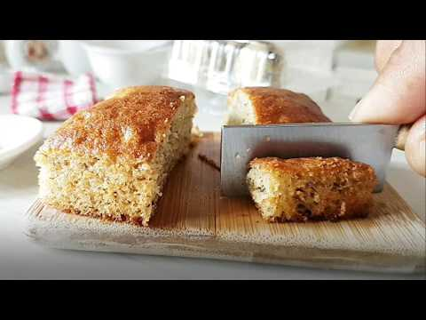 CARA BUAT KEK PISANG | HOW TO MAKE BANANA CAKE | MINI VERSION COOKING