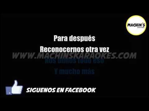 Karaoke-Brillas-León Larregui