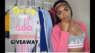 ALIEXPRESS SPRING TRY-ON HAUL + GIVEAWAY(CLOSED)!!!