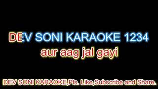 Dillagi ne di hawa.with asha ji voice.karaoke with lyrics by Dev Soni.Pls.Like, Subscribe and Share.