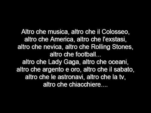Jovanotti - Il più grande spettacolo dopo il Big Bang (Lyrics)