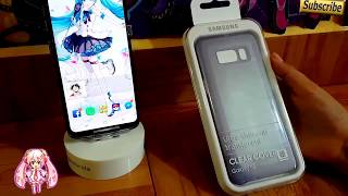 Unboxing Funda Samsung Galaxy S8 Clear Cover Ultra Thin And Translucent Violet