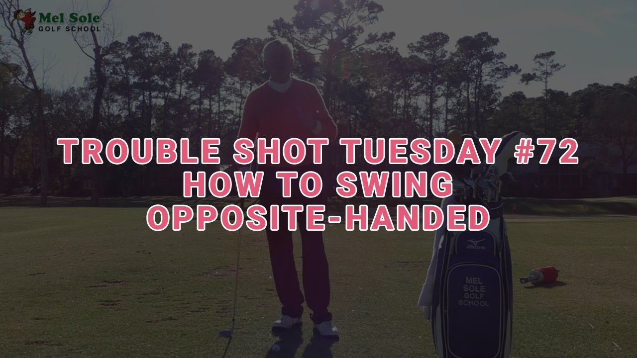 How To Swing Left Handed If You Are A Right Handed Golfer
