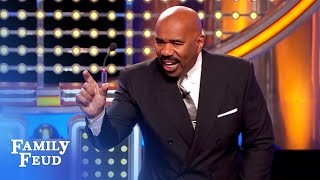 LOL! Would THIS candy fit up your nose? | Family Feud