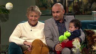 Lars Lerin om kärleken till sonen Rafael - Malou Efter tio (TV4)