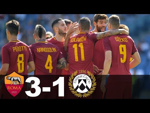 AC Roma Vs Udinese 3-1 All Goals And Highlights 23/09/2017 Serie A 2017/18 HD (El Shaarawy & Others)