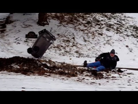 Best WINTER FAILS you've seen in a while! WARNING: May cause LAUGH ATTACK!