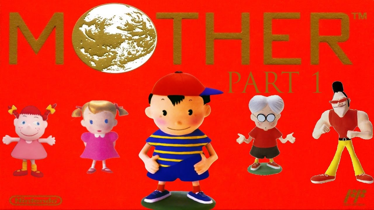 Let's play MOTHER 1 (GBA) part 1 The game that started it all