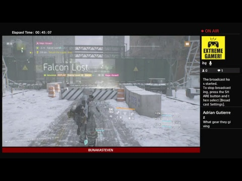THE DIVISION / GLOBAL EVENTS