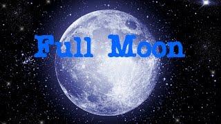 Full Moon Meditation: love, sensitivity, creativity, femininity, anima