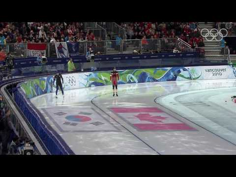 Men's 500M Speed Skating Highlights - Vancouver 2010 Winter Olympic Games