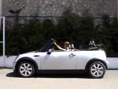 mini cooper cabrio test drive youtube. Black Bedroom Furniture Sets. Home Design Ideas