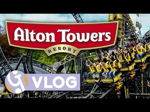 Alton Towers - October 2017   Geekism Vlog