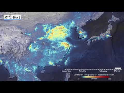 Satellite shows pollution falling in China and Italy during Covid-19 outbreak
