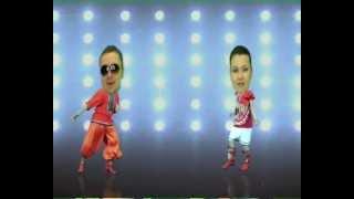Sugar Dance и Бурановские бабушки(Танцующие головы под клип Бурановских Бабушек - Party for everybody (Евровидение 2012), 2012-05-04T17:52:44.000Z)