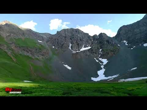 Phantom 4 Pro+ Silverton Colorado Ski Area Summer- Storm Peak
