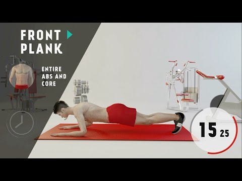 Impossible six pack abs workout – Level 4