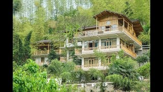 一個和尚,在荒山蓋了爆美小樓,獨自修行 A Monk Builds a Beautiful House on a Waste Hill and Practices Alone