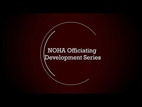 NOHA Officiating Development Series - T.J. Luxmore on Managing the Bench