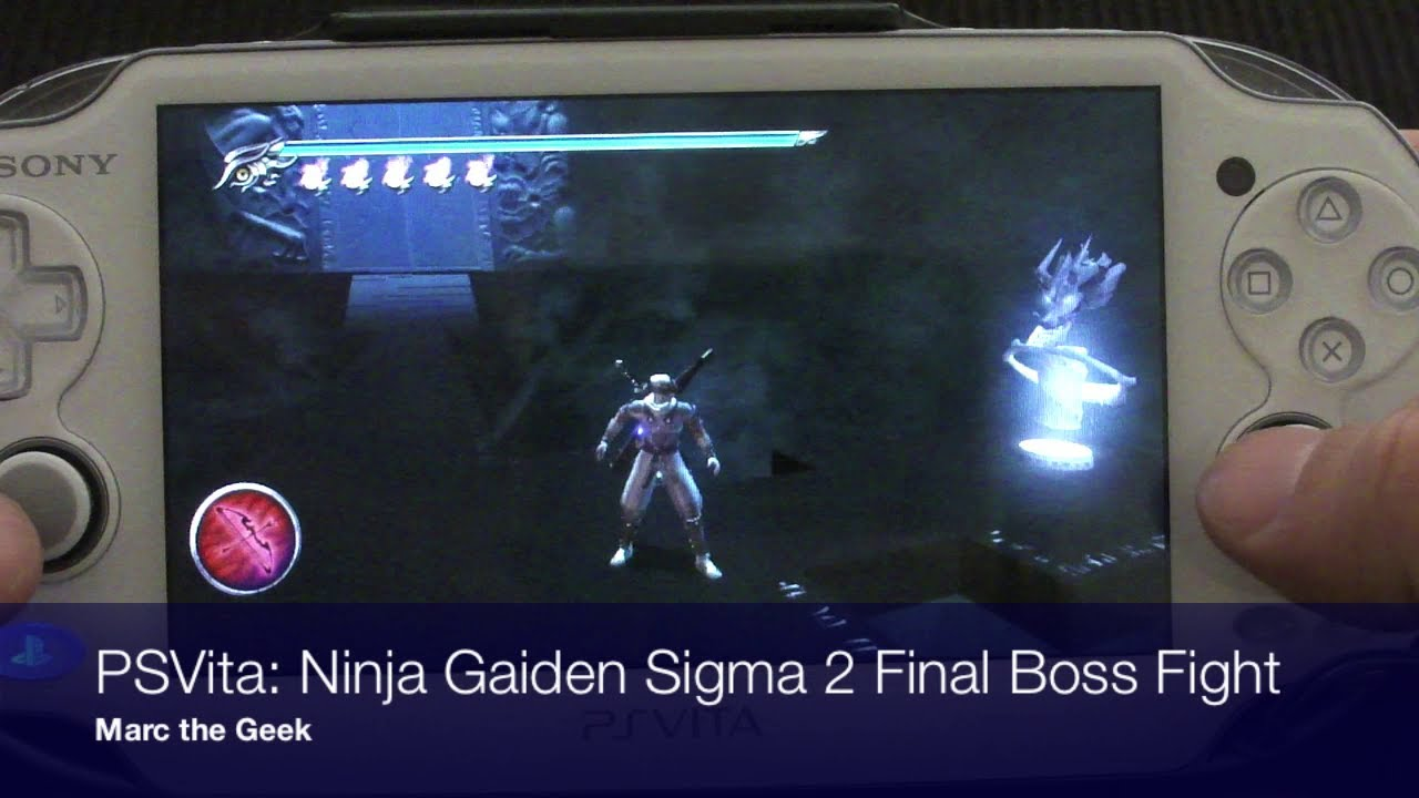 Psvita Ninja Gaiden Sigma 2 Final Boss Fight Youtube
