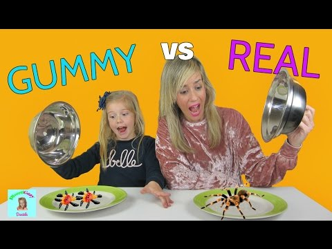 Chuches vs Realidad Challenge | Real vs Gummy | Divertiguay