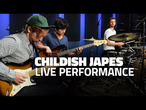 Childish Japes Performance & Interview (Drumeo)