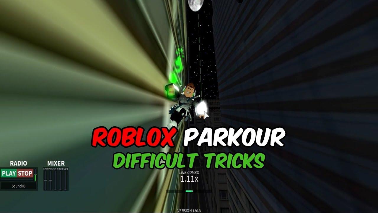 Roblox Parkour - Difficult Tricks