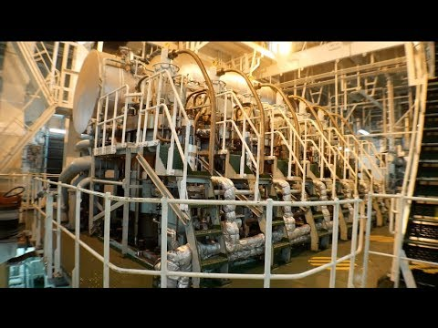 Ships Engine Start Up