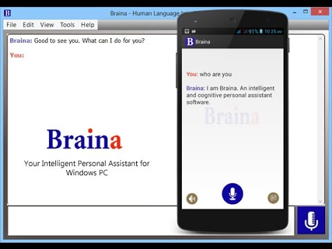 Braina: Artificially Intelligent Assistant Software for Windows PC