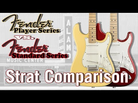 The New 2018 Fender Player vs. Standard-Which Mexican Stratocaster Sounds Better?