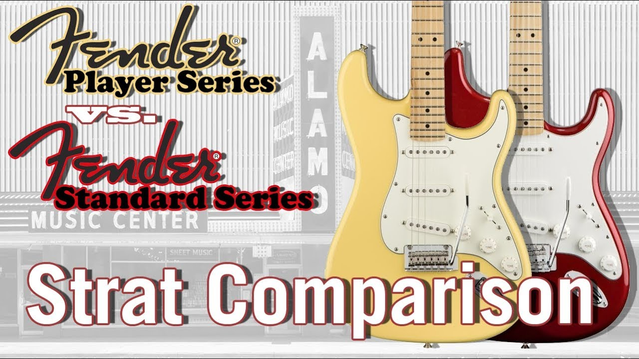 Stratocaster Guide Which Strat To Buy Model Comparison Fender >> The New 2018 Fender Player Vs Standard Which Mexican Stratocaster Sounds Better