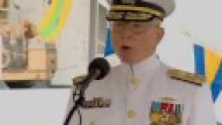 Coast Guard Atlantic Area Change of Command