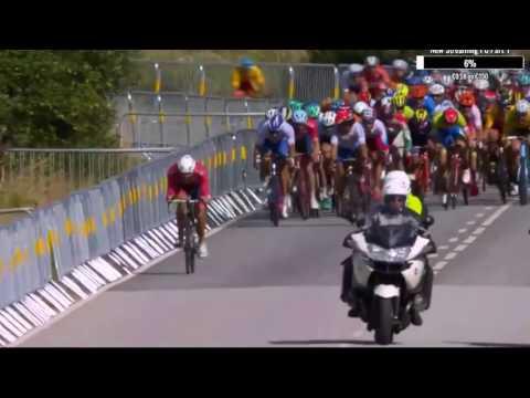 UEC European Championships ELITE MEN 2017 - 2 Final Kilometers [HD]