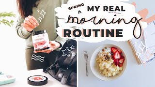 MY HEALTHY SPRING MORNING ROUTINE 2019