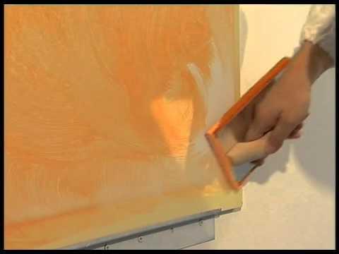Spugnatura Velatura Nuvolatura Decor Spugna Del Colorificio Gottardo Youtube