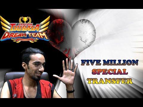 Captain Tsubasa Dream Team - Five Million Downloads Special Transfer Results!