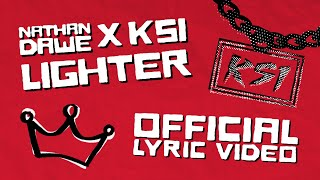 Nathan Dawe x KSI - Lighter [Official Lyric Video]