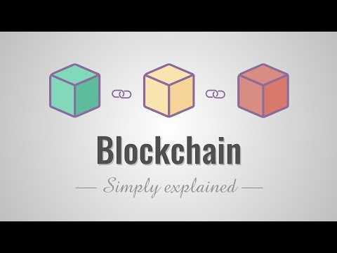 How does a blockchain work - Simply Explained