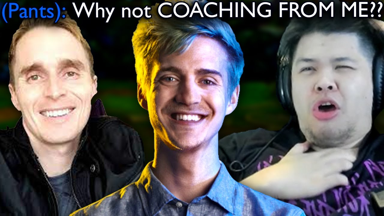 Ninja finally gets coached by a Challenger Coach but it wasn't by me..